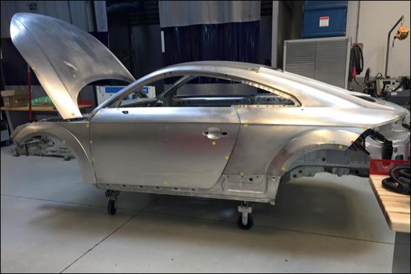 Meeting The Needs Of OEM Repairs In Collision Today Equipment - Audi certified collision repair